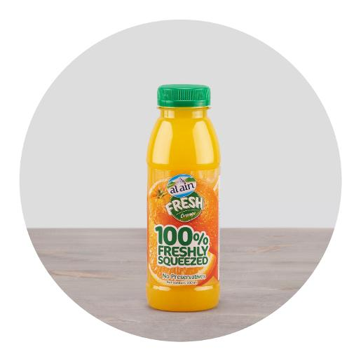 Al Ain Fresh Orange Juice 330ml