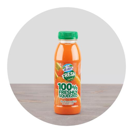 Al Ain Fresh Carrot Juice 330ml