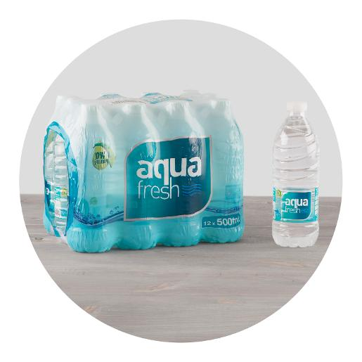 Aqua Still Water - 500ml x 24