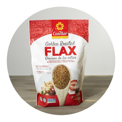 CanMar Golden Roasted Flax  - 425g