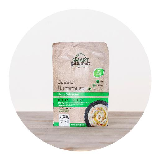 Smart Gourmet Ready To Eat Classic Hummus - 200g