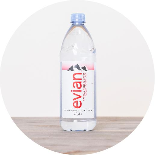 Evian Natural Water - 1 Ltr bottle