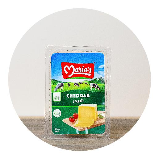 Maria's White Cheddar Slices - 150g