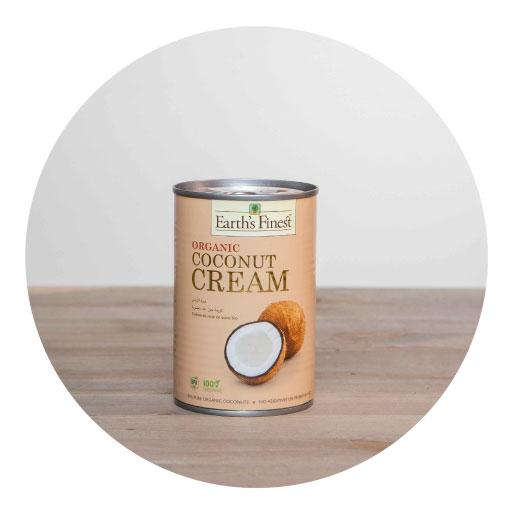 Earth's Finest Organic Coconut Cream - 400ml