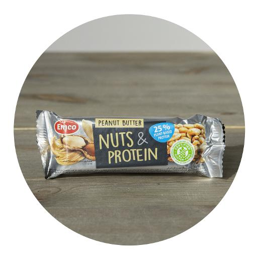 Emco Peanut Butter Nuts & Protein Bar - 40g