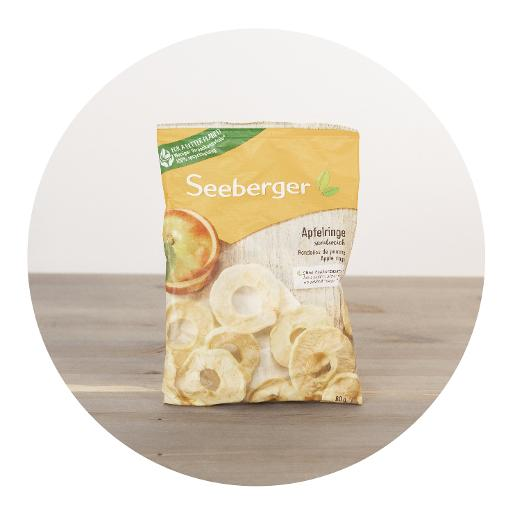 Seeberger Apple Rings - 80g
