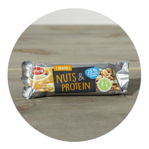 Emco Caramel Nuts & Protein Bar - 35g