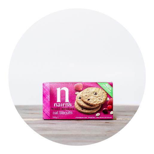 Nairn's Mixed Berries Oat Biscuits - 200g