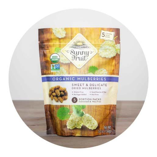 Sunny Fruit Organic Mulberries - 150g