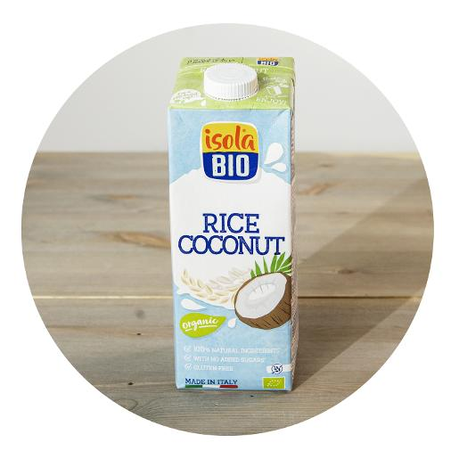 Isola Bio Organic Rice Coconut Milk - 1ltr