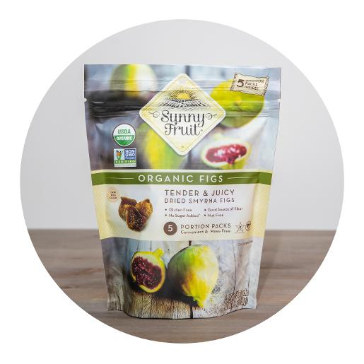 Sunny Fruit Organic Dried Figs - 250g