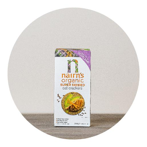 Nairn's Organic Super Seeded Oatcakes - 200g
