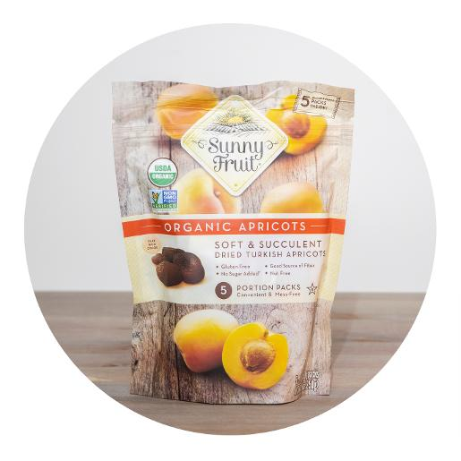 Sunny Fruit Organic Dried Apricots 250g