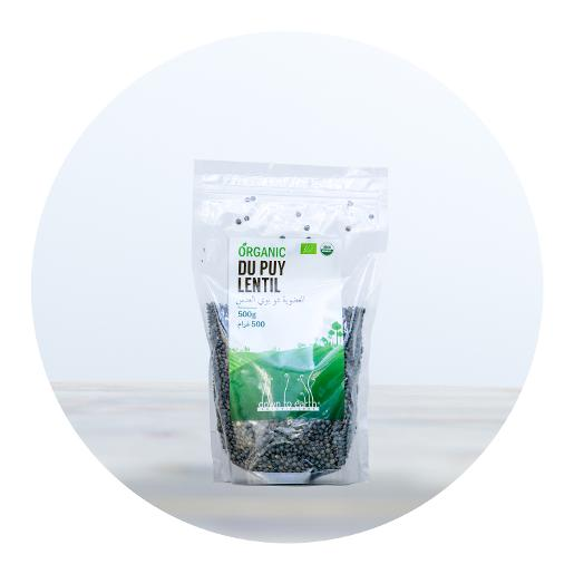 Down to Earth Organic Du Puy Lentil - 500g