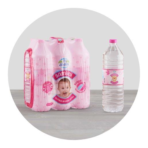 Bambini Baby Water - 1.5ltr x 6