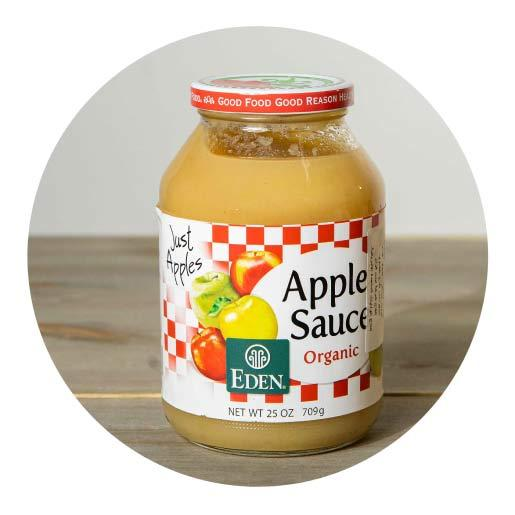 Eden Organic Apple Sauce - 709g