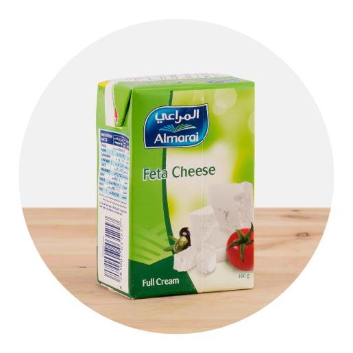 Almarai Full Fat Feta Cheese - 400g