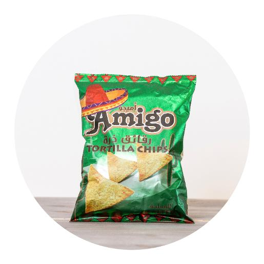 Amigo Salted Tortilla Chips - 100g