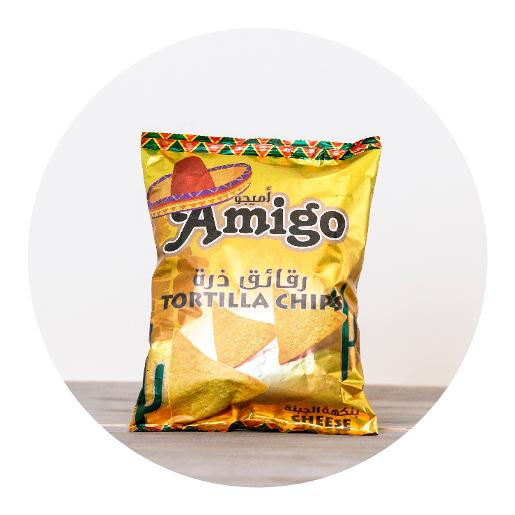 Amigo Cheese Tortilla Chips - 100g