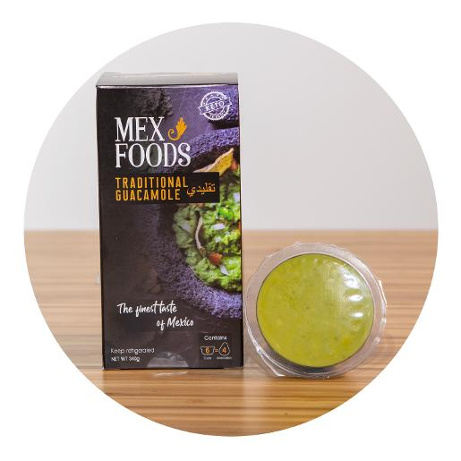 Mexfoods Guacamole On the Go - Pack of 6 Cups