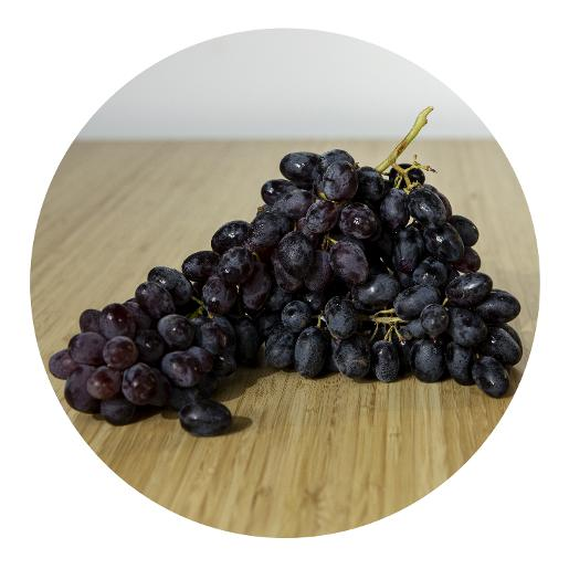 Black Grapes - 500g
