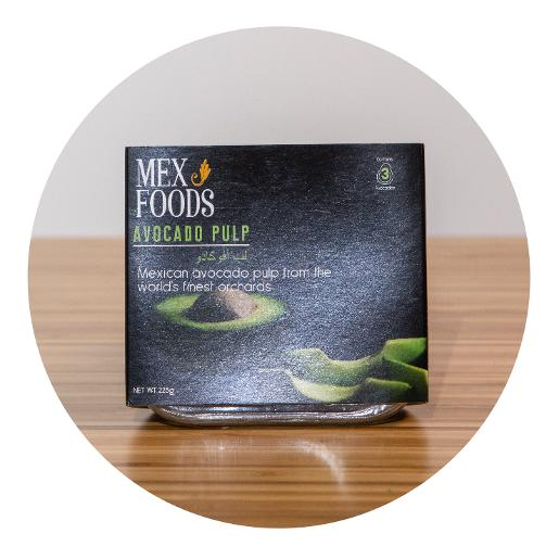 Mexfoods Avocado Pulp Sharing Tray - 225g