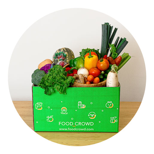 Food Crowd Vegetable Box