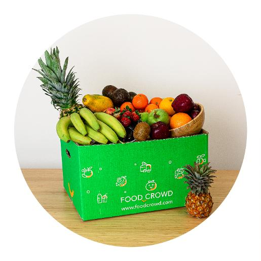 Food Crowd Fruit Box